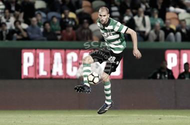 Bas Dost é o artilheiro que lidera os melhores marcadores da Liga NOS // Foto: Facebook do Sporting Clube de Portugal
