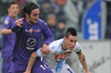 Diretta Fiorentina - Napoli in Serie A