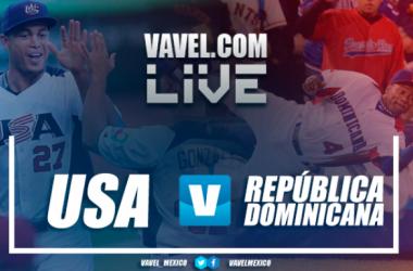 Resultado y videos del Estados Unidos 6-3 Dominicana en Clásico Mundial de Beisbol 2017