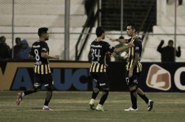 Carrizo, Lovera y Herrera, los 3 seguirán en Central. (Foto: La Capital)