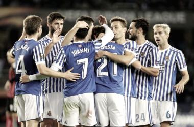 ¿Cómo llegan el RB Salzburgo y la Real Sociedad a dieciseisavos de final?