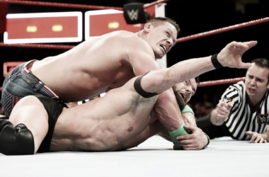 John Cena vs FInn Balor en el Main Event | Foto: WWE