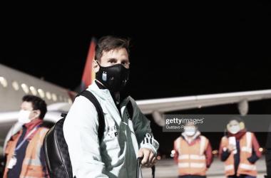 EN VEREMOS. Messi y varios más están en duda si se llega a confirmar la Superliga europea. Foto: Getty images