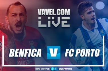 Resultado e golos Benfica 1x1 Porto na Liga NOS 2017