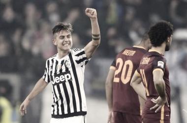 L'esultanza di Dybala nell'ultimo match a Torino | Eurosport