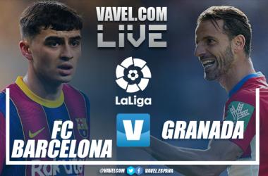 Resumen Barcelona vs Granada (1-2)
