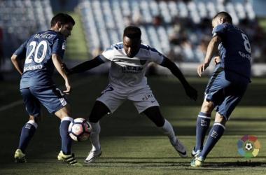 """Kitoko: """"El objetivo es ganar al Real Oviedo este fin de semana"""""""