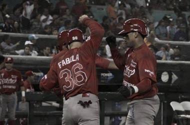 Ortiz y Vázquez fueron claves para la victoria escarlata | Foto:LMB