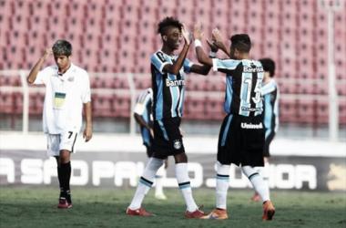 Grêmio bate Santos-AP e se recupera na Copa São Paulo Júnior
