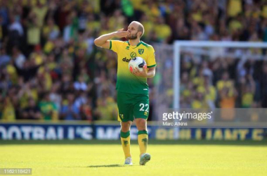 Teemu Pukki landed the PFA Fans' Player of the Month after an impressive first month in the Premier Leage with Norwich (Getty Images/Mark Atkins)