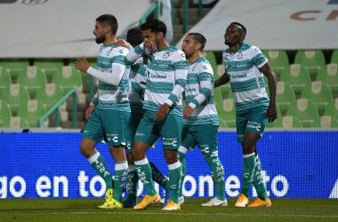 """<p class=""""MsoNormal"""">El colombiano Juan Otero anotó su primer gol en la Liga Mx (Foto: Club Santos)<o:p></o:p></p>"""