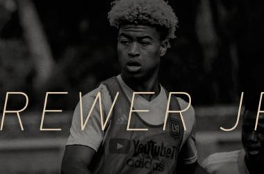 Brewer Jr, nueva incorporación de LAFC. / Foto: lafc.com