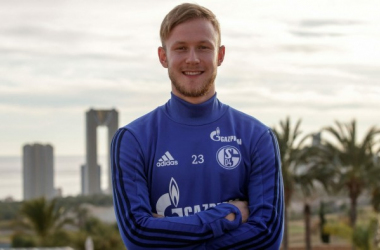 Cedric Teuchert. | Photo: Schalke 04.
