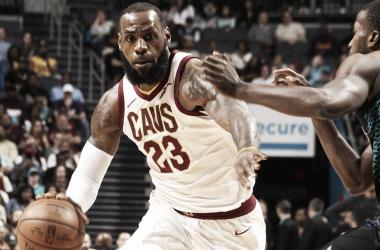 LeBron iguala otrorécord.   Fotografía: NBA.com