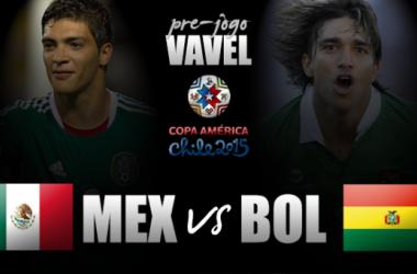 México e Bolívia se enfrentam na segunda partida do Grupo A da Copa América