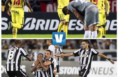 Barcelona SC y Botafogo son los líderes del grupo. Foto: montaje VAVEL Ecuador