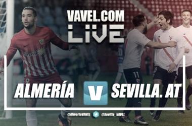 Resumen Almería 2-1 Sevilla Atlético en Segunda División 2017