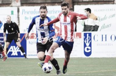 Yosu Camporro y Dani Benéitez, en el partido de la primera vuelta. Foto: Diego Blanco VAVEL.