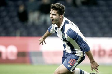 André Silva perdeu terreno de forma incompreensível // Foto: Facebook do FC Porto