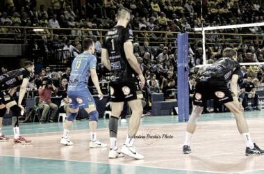 Volley M - La Lube Civitanova Marche batte in trasferta la Diatec Trentino ed è a un passo dallo scudetto