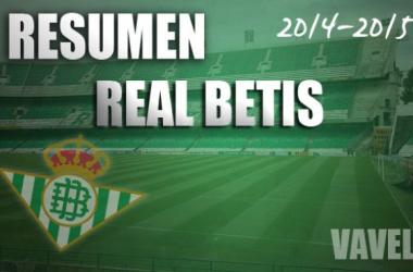 Resumentemporada 2014/15 del Real Betis: Retorno al recóndito escondite de lasestrellas