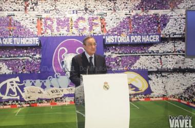 """Florentino Pérez: """"Danilo, bienvenido a tu casa"""""""