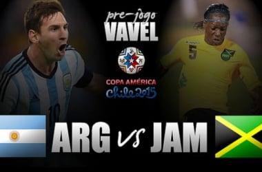 Em busca da liderança, Argentina enfrenta eliminada Jamaica na última rodada do Grupo B