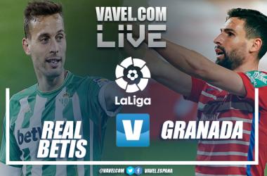 Resumen Betis 2-1 Granada CF en LaLiga 2021
