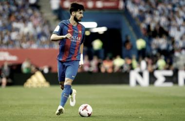 André Gomes tem dado que falar // Foto: Facebook do FC Barcelona