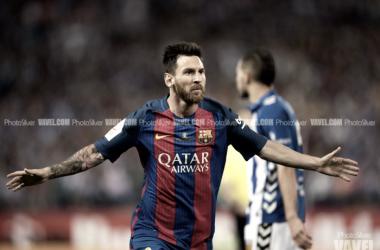 Messi y Neymar entierran la ilusión alavesista