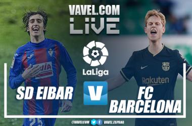 Resumen Eibar vs Barcelona en Liga Santander (0-1)