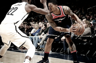 La figura del partido, Bradley Beal de Washington Wizards