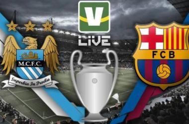 Manchester City x Barcelona, Uefa Champions Leagu