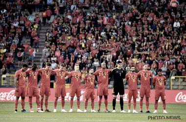 Los Red Devils deben comenzar a consagrarse como candidatos al título. Fuente: Selección Bélgica.