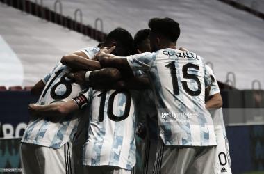 Fecha 2- Copa América- Argentina 1- Uruguay 0