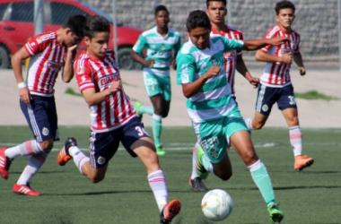 Previa:Chivas vs Santos Sub-17 semifinal (CORREGIR A FORMATO DE PREVIA)