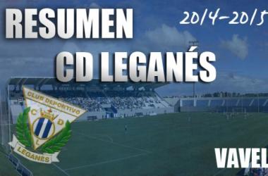 Resumen temporada 2014/15 del CD Leganés: un regreso sobresaliente