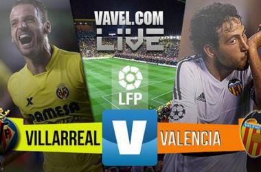 Resultado Villarreal - Valencia en Liga BBVA 2015 (1-0)