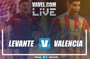 Resumen Levante UD 1-1 Valencia CF en La Liga