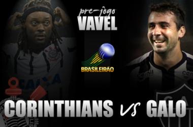 Pré-jogo: No jogo do melhor ataque contra a melhor defesa, Corinthians e Atlético-MG duelam pela liderança