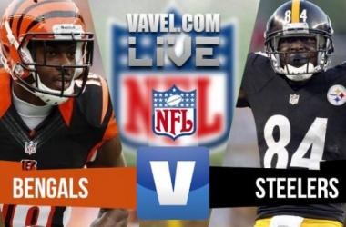 Resultado de Pittsburgh Steelers x Cincinnati Bengals na NFL 2015/2016