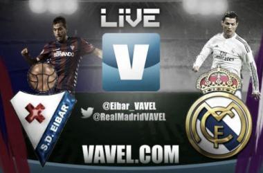 Live Liga BBVA : le match Eibar - Real Madrid en direct