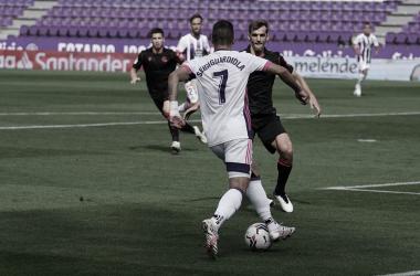 Un error de Masip priva de la victoria al Real Valladolid