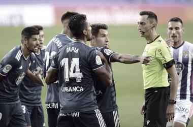 Sánchez Martínez en el Real Valladolid - Celta de esta temporada | Real Valladolid