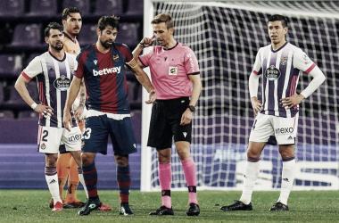 Pizarro Gómez en el Real Valladolid - Levante ! Real Valladolid
