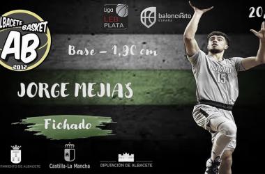Albacete Basket completa su plantilla con Jorge Mejías