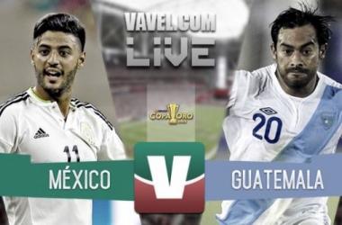 Resultado México - Guatemala en Copa Oro 2015 (0-0)