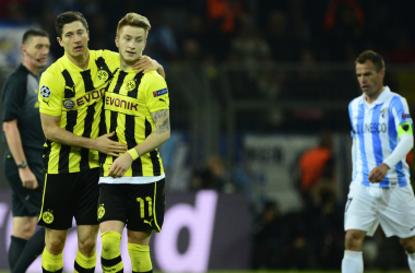 Com virada heróica nos acréscimos, Dortmund desbanca Málaga e avança na Champions