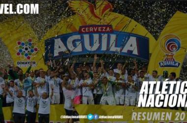 Atlético Nacional sumó su estrella número 16 y es el más campeón de Colombia | Fotomontaje: VAVEL Colombia