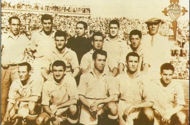 La final copera de 1948 supuso el cénit del Celta de la posguerra (Foto: celtahistoria.blogspot.com)
